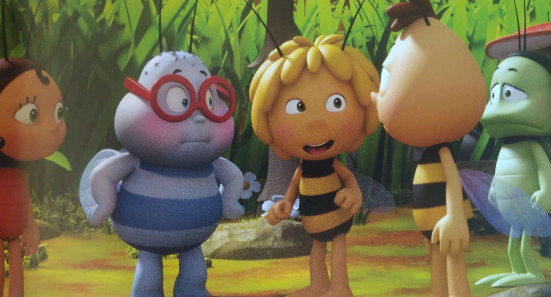 Pszczółka Maja - powrót do ula