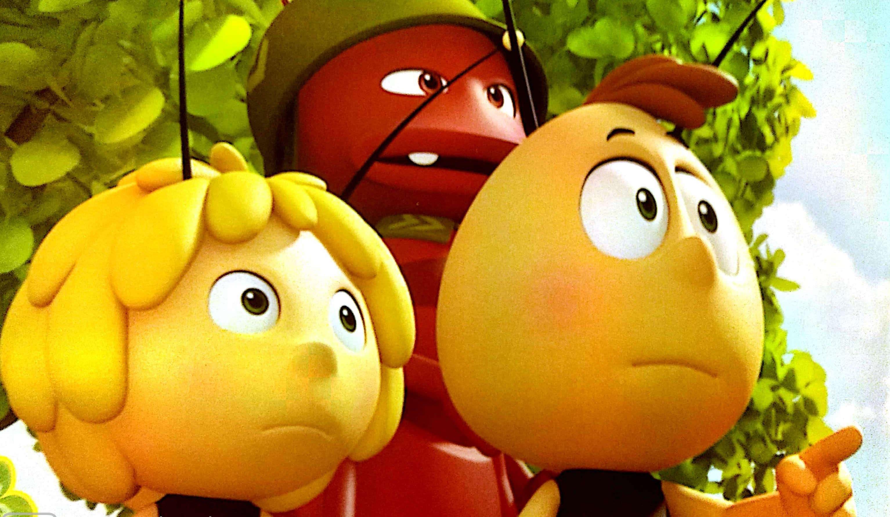 Pszczółka Maja i słodki skarb