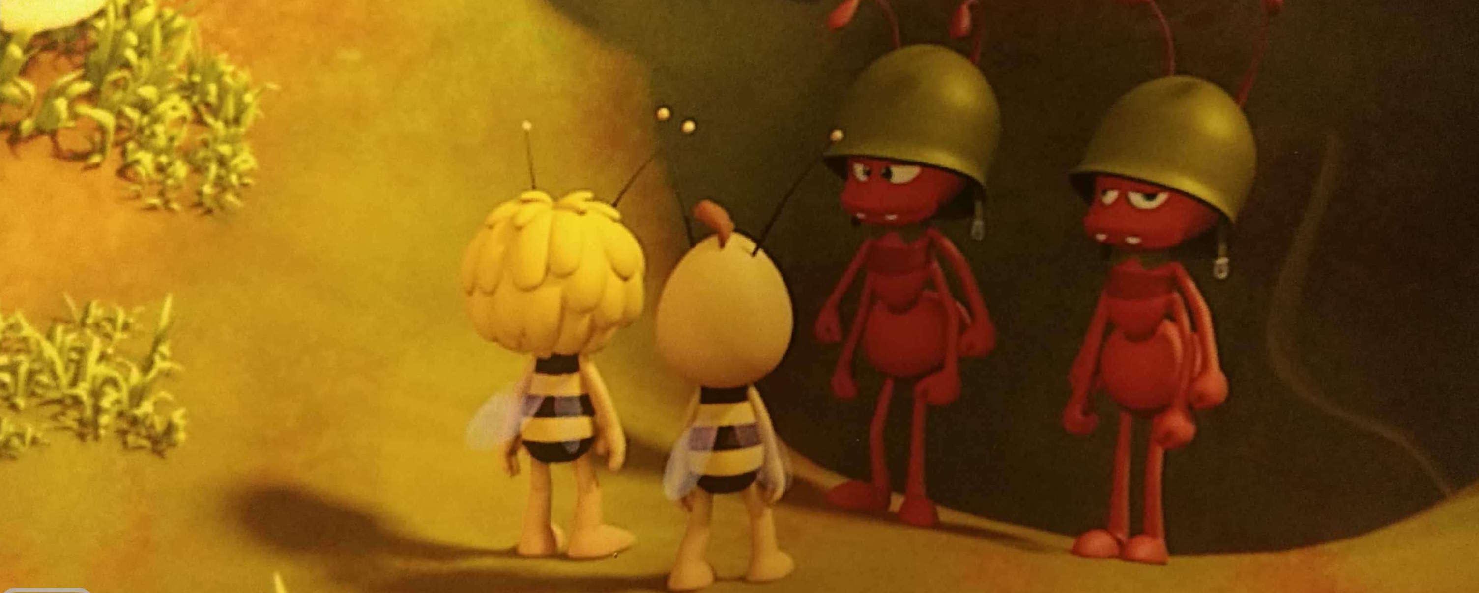 Pszczółka Maja i mrówki