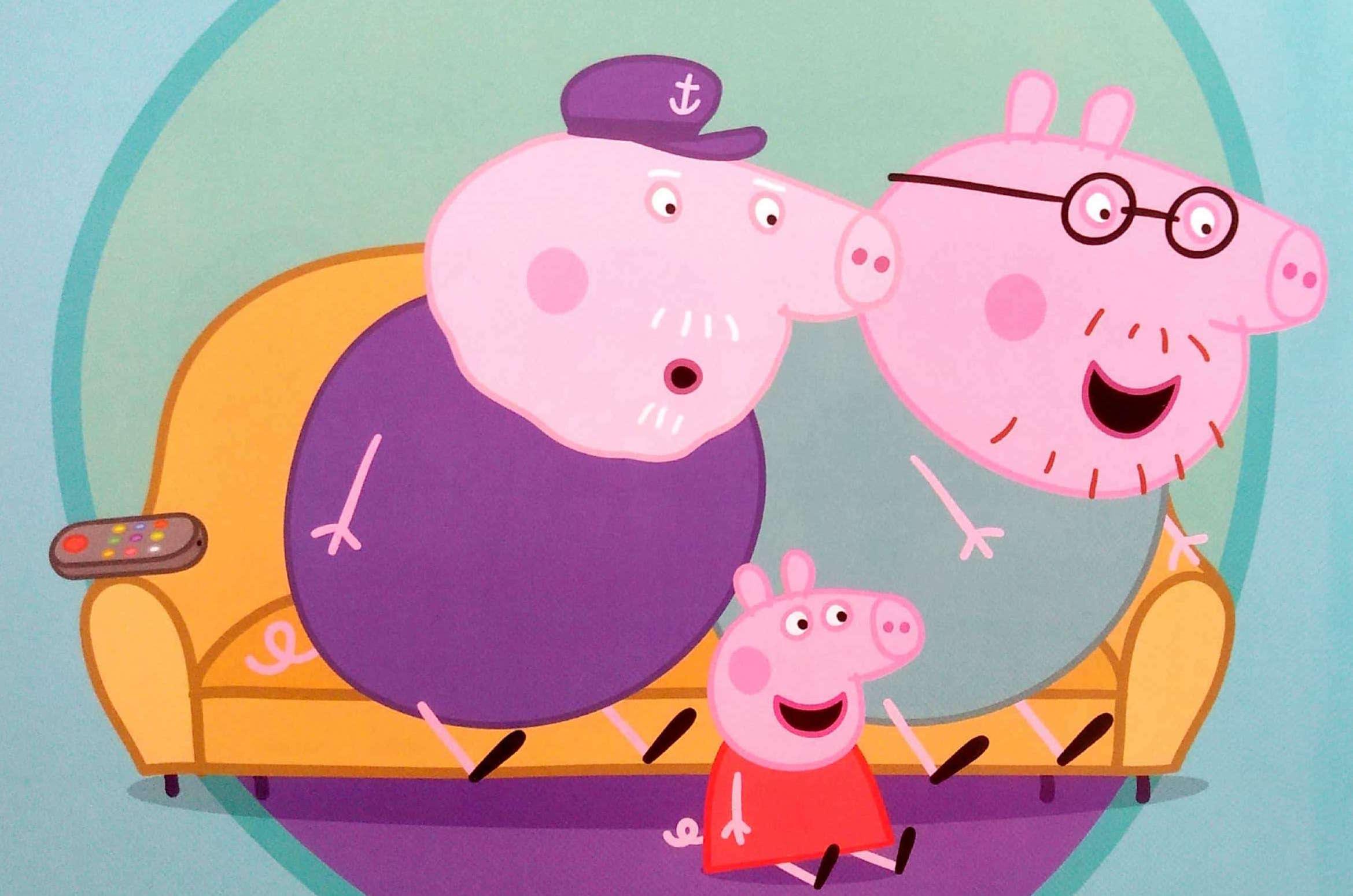 Świnka Peppa i wyścigówka George'a