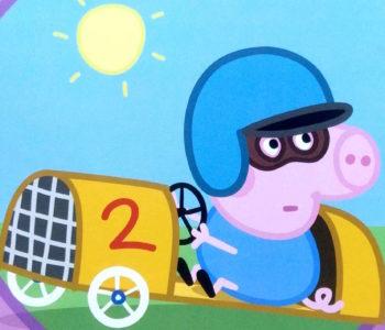 Świnka Peppa – Wyścigówka George'a