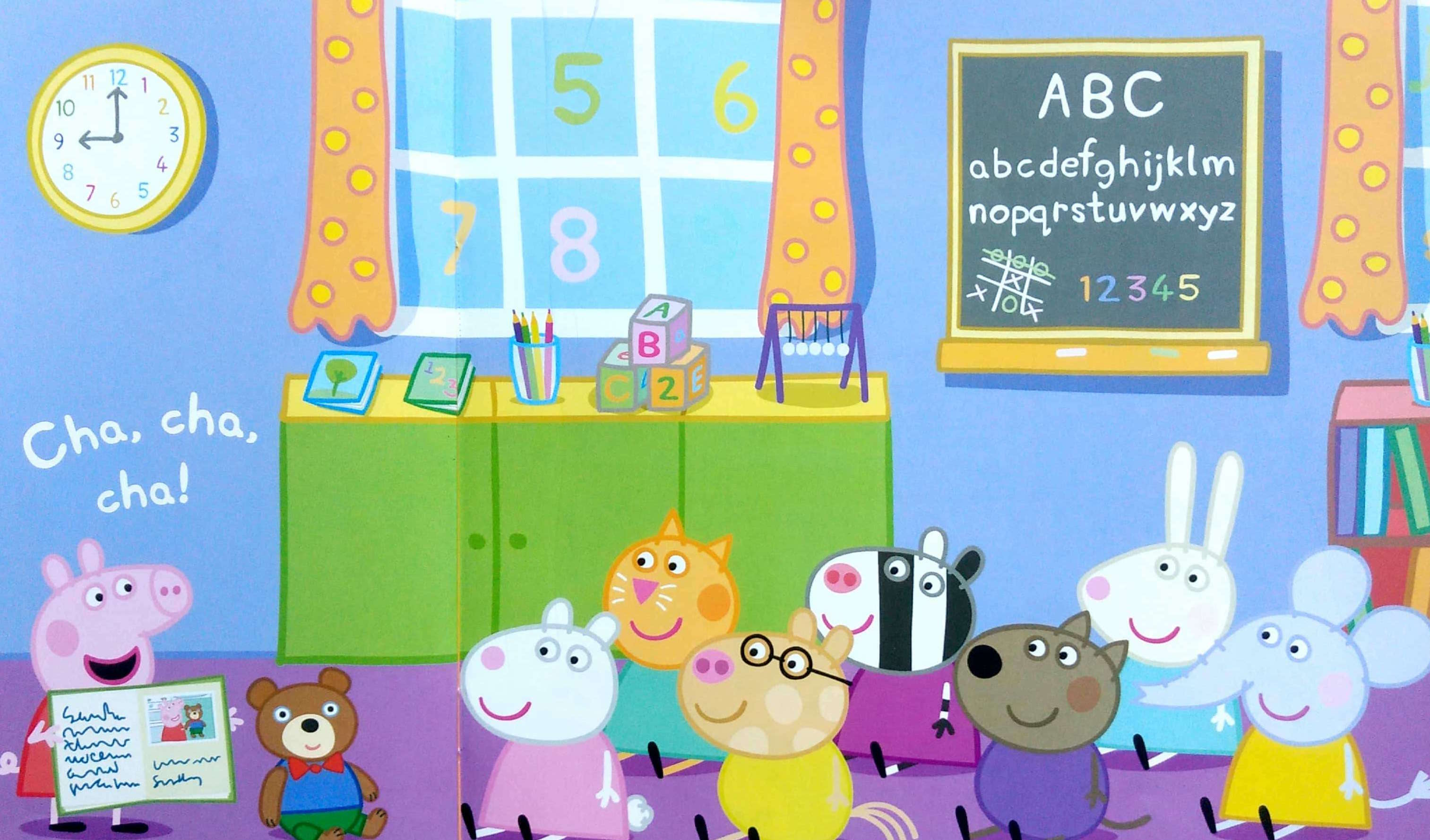 Świnka Peppa w przedszkolu
