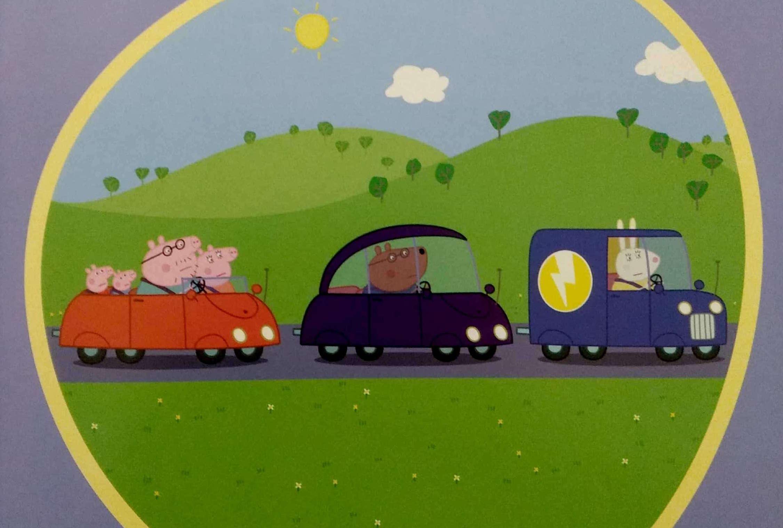 Świnka Peppa i roboty drogowe