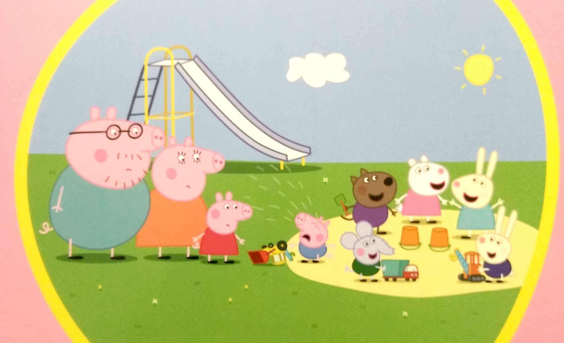 Świnka Peppa - dzieci na placu zabaw