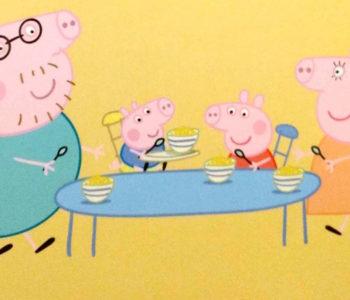 Świnka Peppa – Sposób na czkawkę.