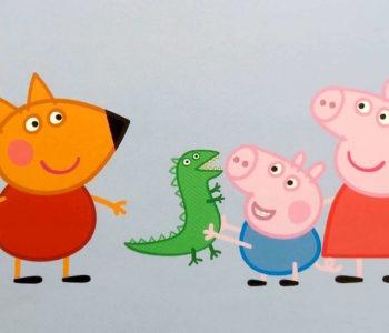 Świnka Peppa – W parku dinozaurów