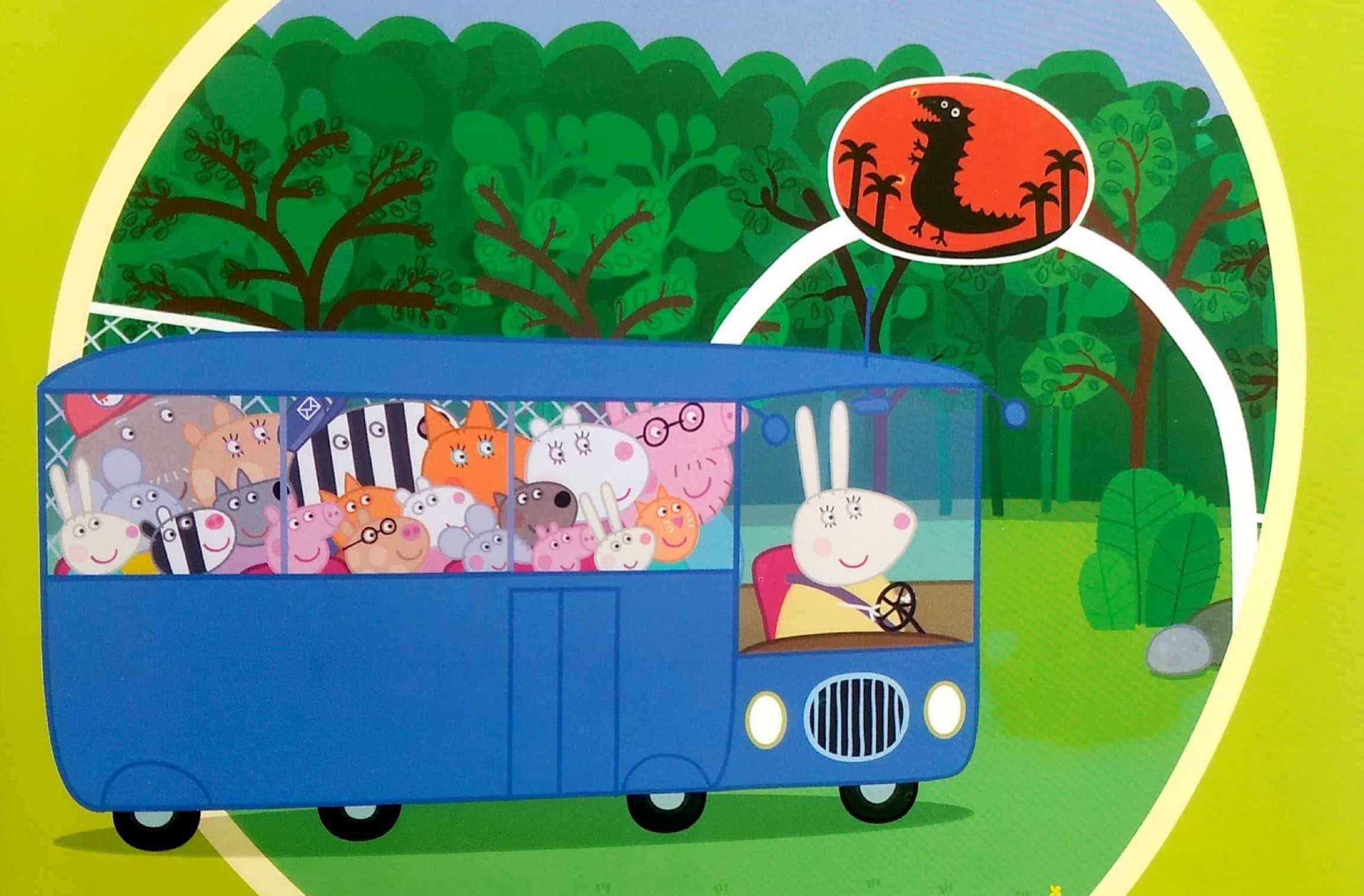 Świnka Peppa i wycieczka do parku dinozaurów