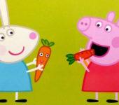Świnka Peppa i królik Rebeka