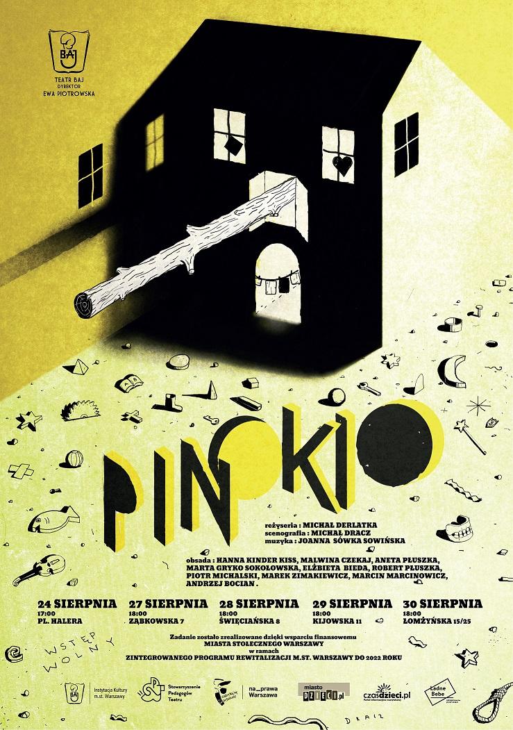 Premiera spektaklu Teatru Baj: Pinokio