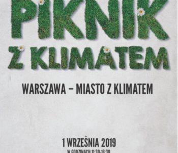 Warszawa - miasto z klimatem. Piknik klimatyczny