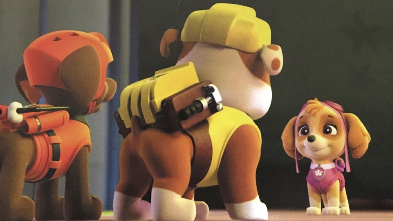 Psi Patrol Skye, Rubble, Zuma