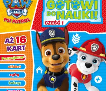Psi Patrol znowu w akcji! Gotowi do nauki – kolekcja książek