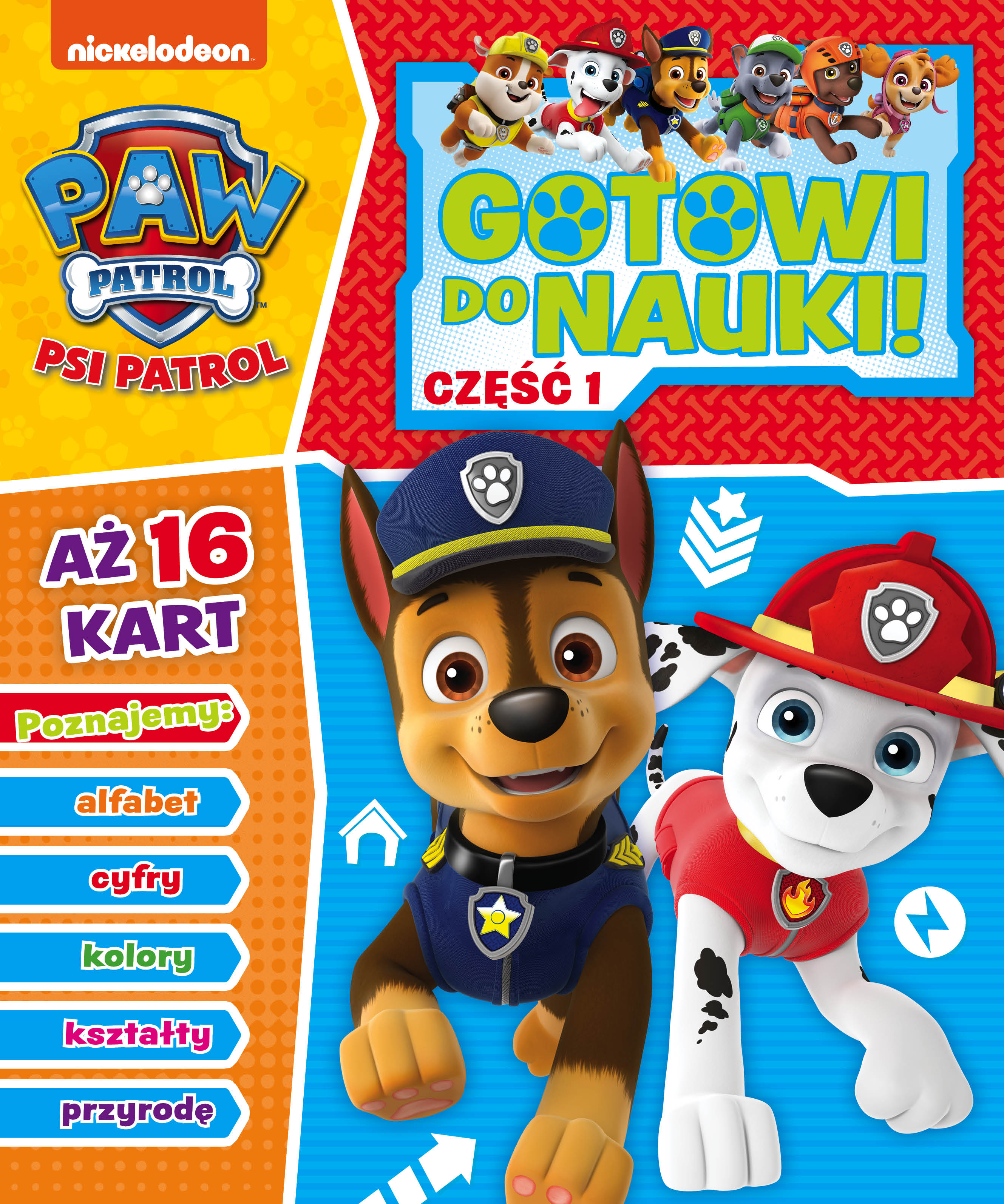 Psi Patrol. Gotowi do nauki