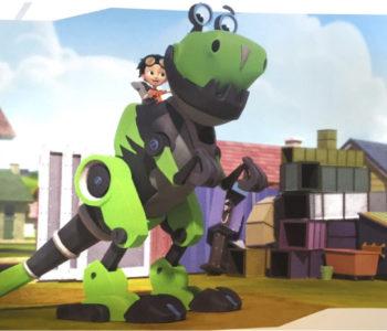 Rafcio Śrubka i dinozaur