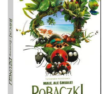 Robaczki z zaginionej dżungli na DVD