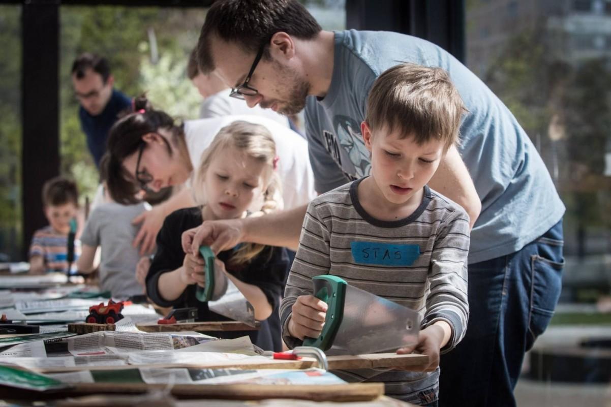 Stolarka dla dzikich dzieci – warsztaty twórcze