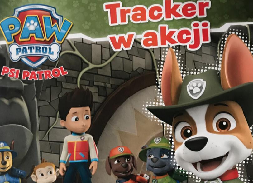 Psi Patrol - Tracker w akcji