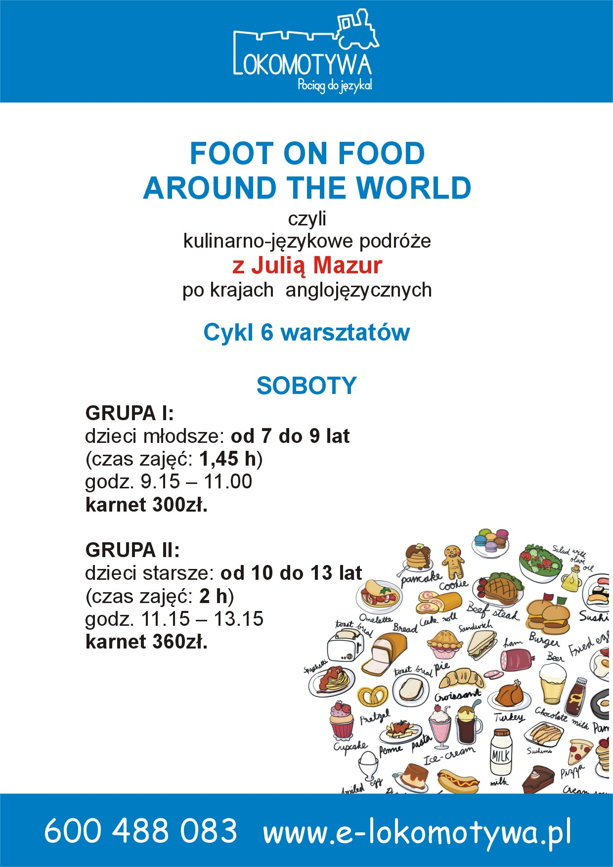 Foot on Food – Around the world