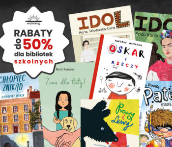 Rabaty do 50% dla bibliotek szkolnych w Widnokręgu