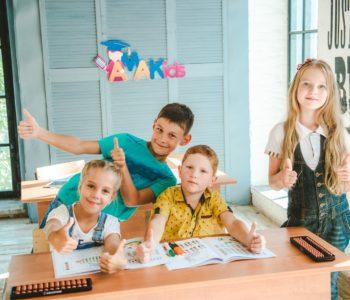 Dzieci uczą się arytmetyki mentalnej