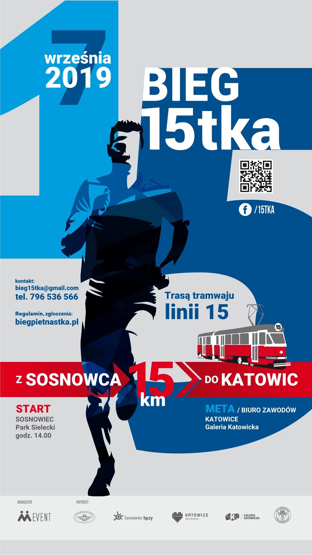Przed nami 5 edycja biegu 15tki z Sosnowca do Katowic
