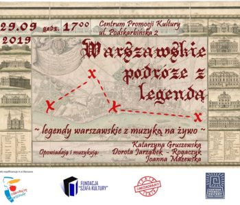 Warszawskie podróże z legendą – spektakl nie tylko dla dzieci