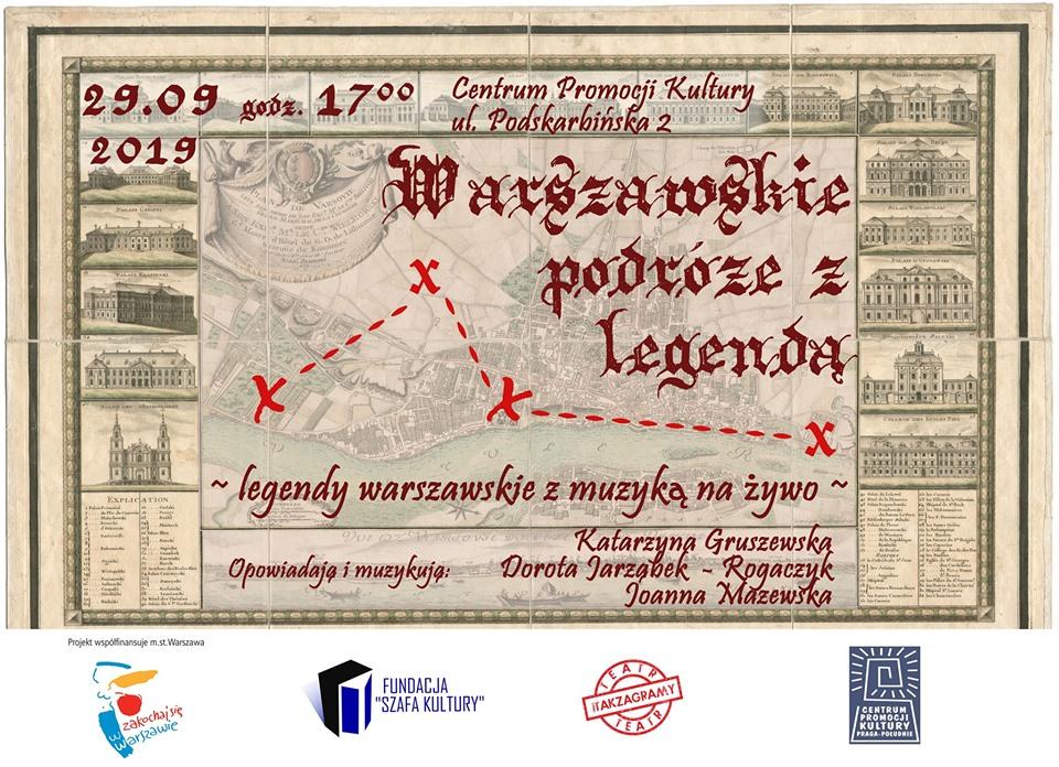 Warszawskie podróże z legendą - spektakl nie tylko dla dzieci