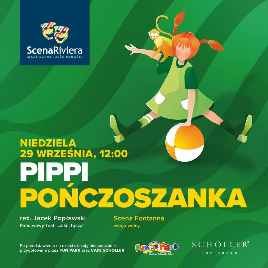 Pippi Pończoszanka na Scenie Riviery