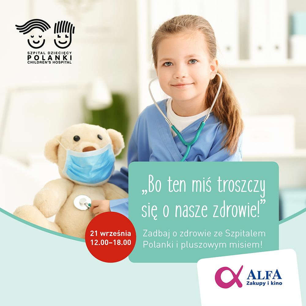 Misie dzieciom w Alfa Centrum w Gdańsku