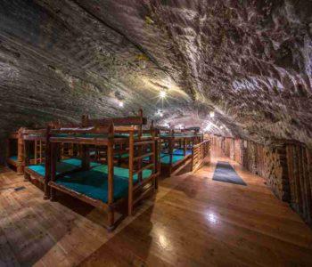Pobyt nocny w zdrowym klimacie 250 m pod ziemią