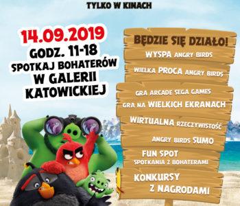 We wrześniu Angry Birds opanują Galerię Katowicką