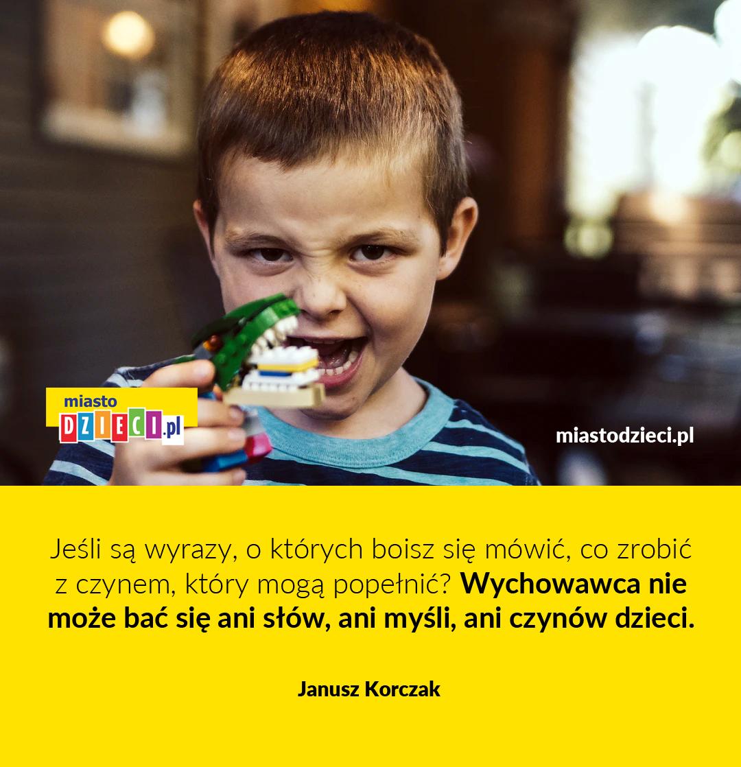 Złote myśli Korczaka