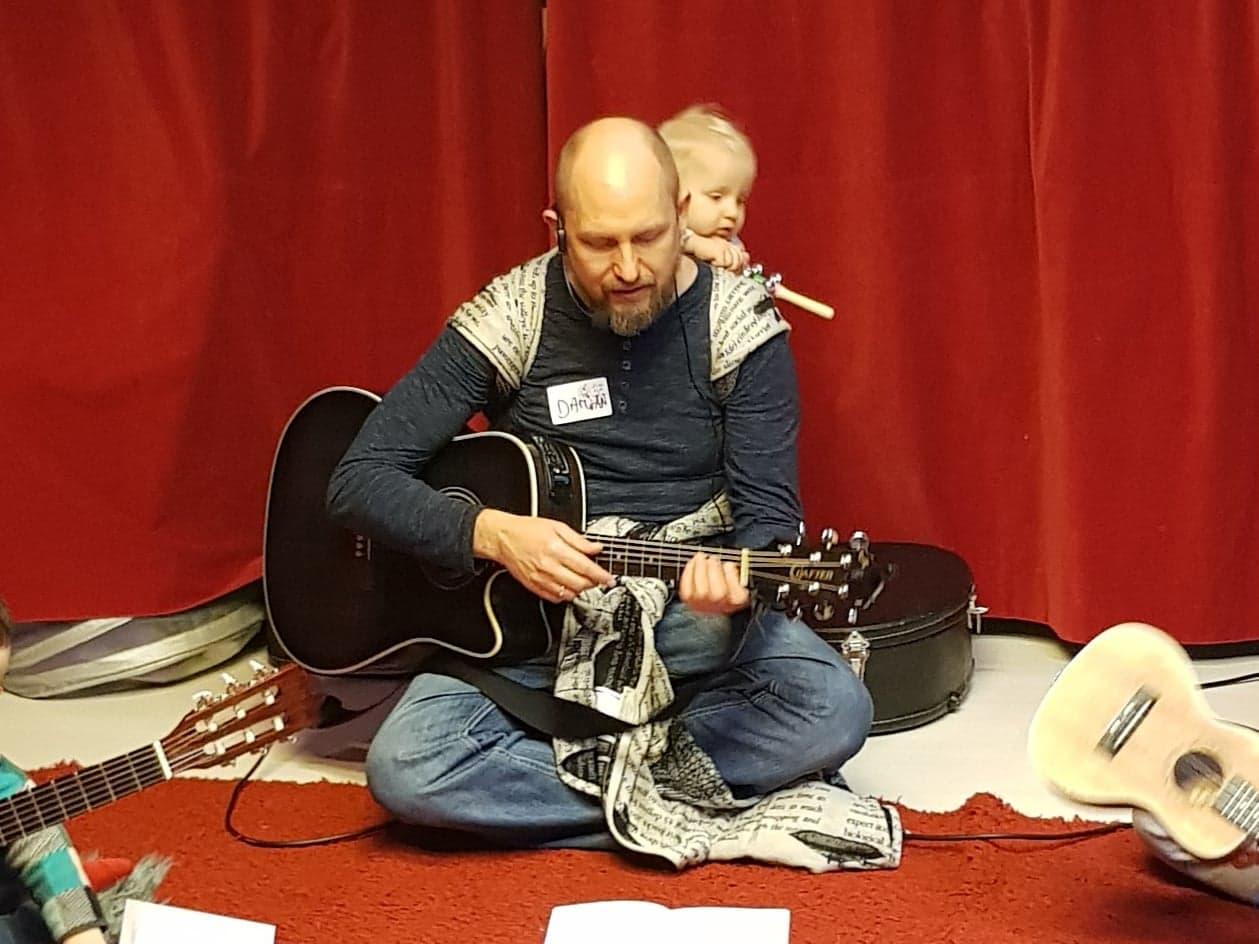 Śpiewnik Przedszkolaka - bezpłatne zajęcia familijne