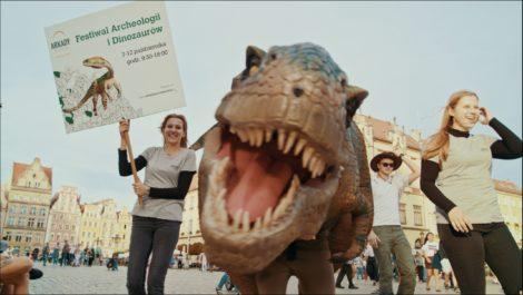 Festiwal Archeologii i Dinozaurów w Arkadach Wrocławskich