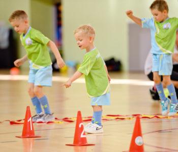 Zajęcia piłki nożnej dla najmłodszych 2-7 lat