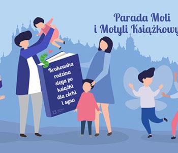 Biblioteka Krakóww weekendkusi Paradą Moli Książkowychi otwarciem kilku filiiw niedzielę!