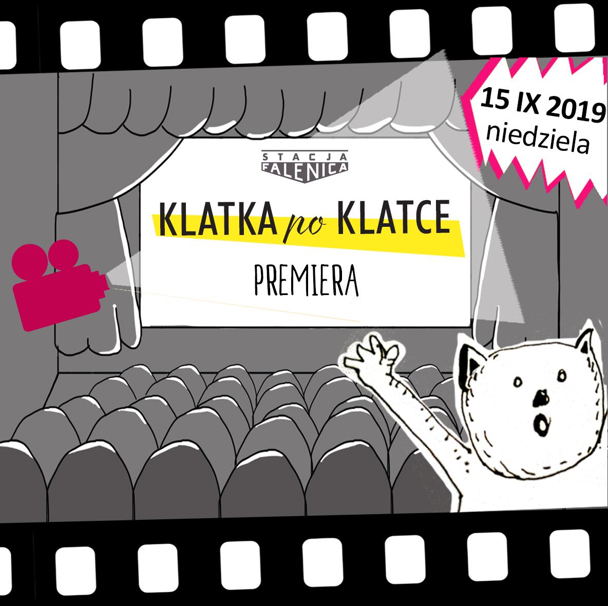 Kinowa premiera filmów animowanych - Klatka po Klatce