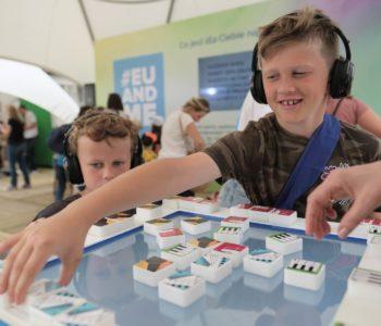 Komisja Europejska z atrakcjami dla dzieci na Warszawskim Festiwalu Konesera