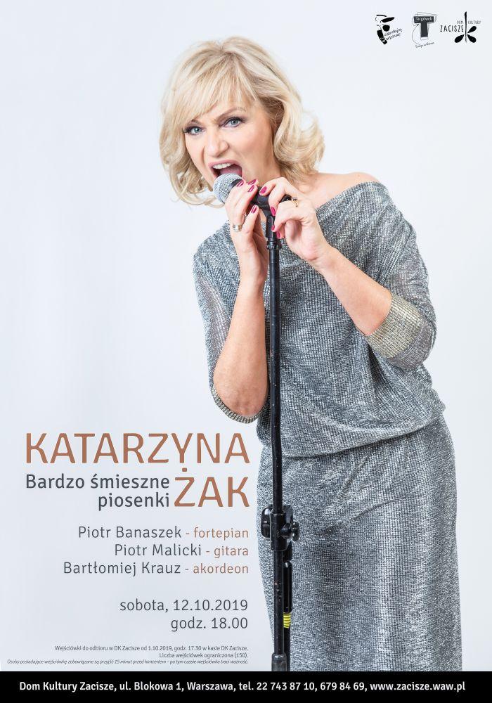 Koncert Katarzyny Żak: Bardzo śmieszne piosenki