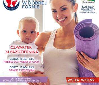 Bezpłatne zajęcia fitness dla kobiet w ciąży i fitness z dzieckiem