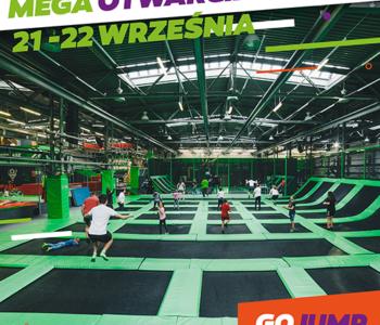 Otwarcie Największego Parku GOjump MEGApark w Polsce! Już w ten weekend!