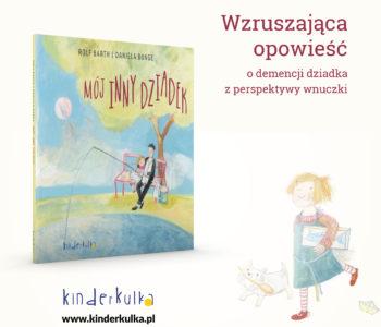 Mój Inny Dziadek – premiera książki dla dzieci