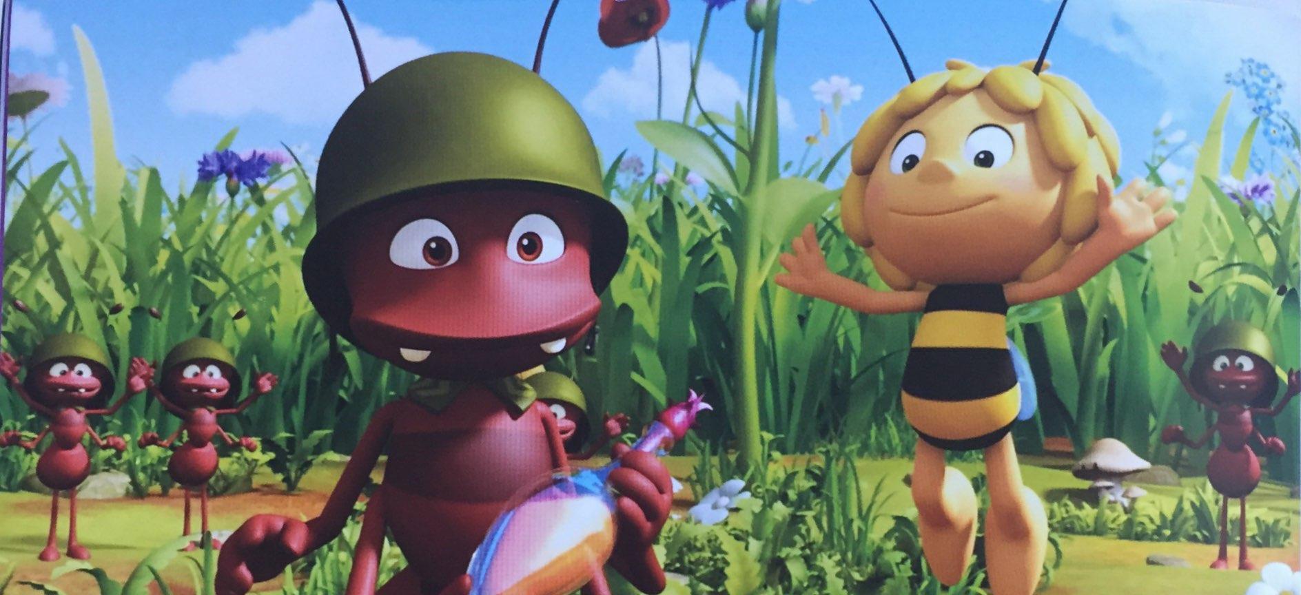 Pszczólka Maja i mrówka