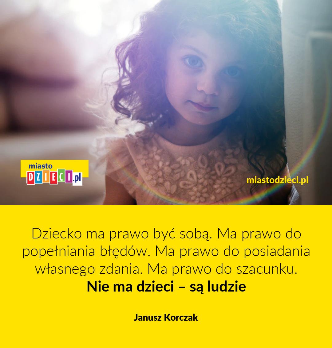 Złote myśli Korczaka o dzieciach