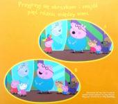 Łamigłówki dla dzieci znajdź różnice Świnka Peppa