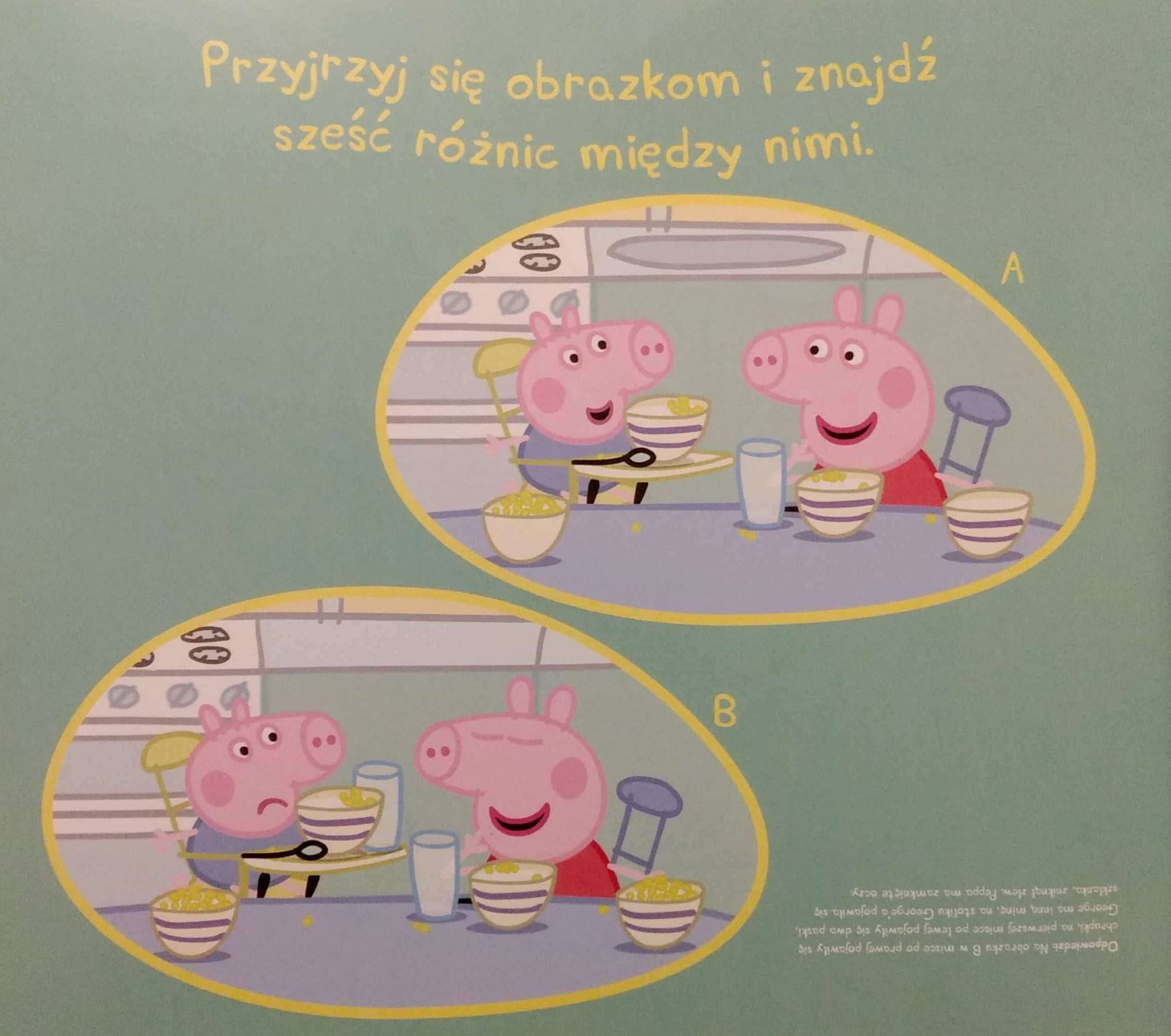 zagadki dla dzieci Świnka Peppa