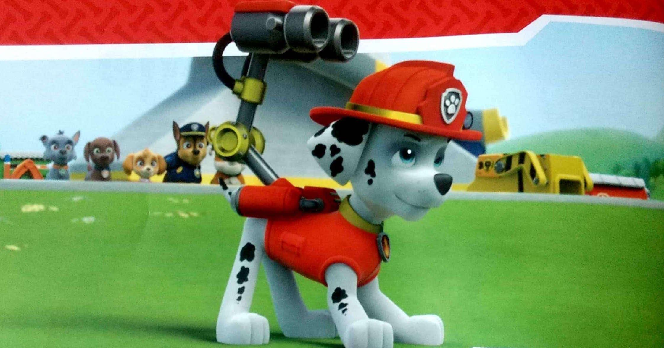 Psi Patrol Marshall bije strażacki rekord