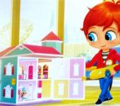 Shimmer i Shine domek dla lalek