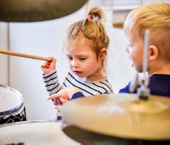 Zapisy na grupowe zajęcia perkusyjne dla dzieci przedszkolnych (3-5 lat)