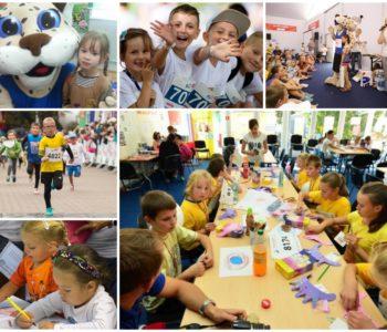 Strefa Dzieci 10. TAURON Festiwalu Biegowego